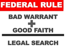 five exceptions to the exclusionary rule The good faith exception to the exclusionary rule: the rule does not  thirty- five years after weeks, the supreme court decided wolf v.