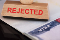 Stamp of rejected on Visa application