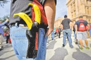 Can I carry a gun on a college campus in Texas?
