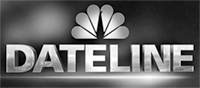 Dateline Logo Grayscale