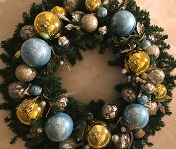 Fort Worth Law Firm Holiday Decoration