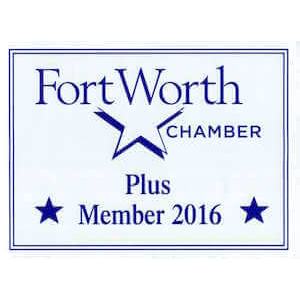 Badge for Fort Worth Texas Chamber of Commerce Membership