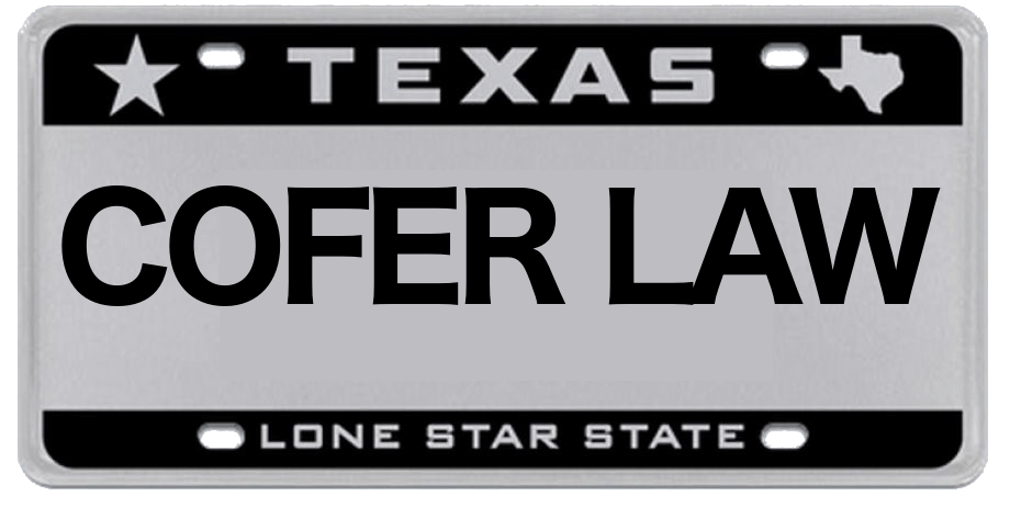 Attractive Black And White Texas License Plate Starting In 2009
