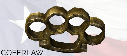 metal or plastic brass knuckles in TX law