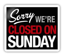 Blue Laws Close Liquor Stores on Sundays